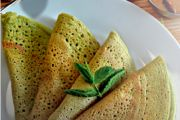 Moringa and Curry Leaf Dosa