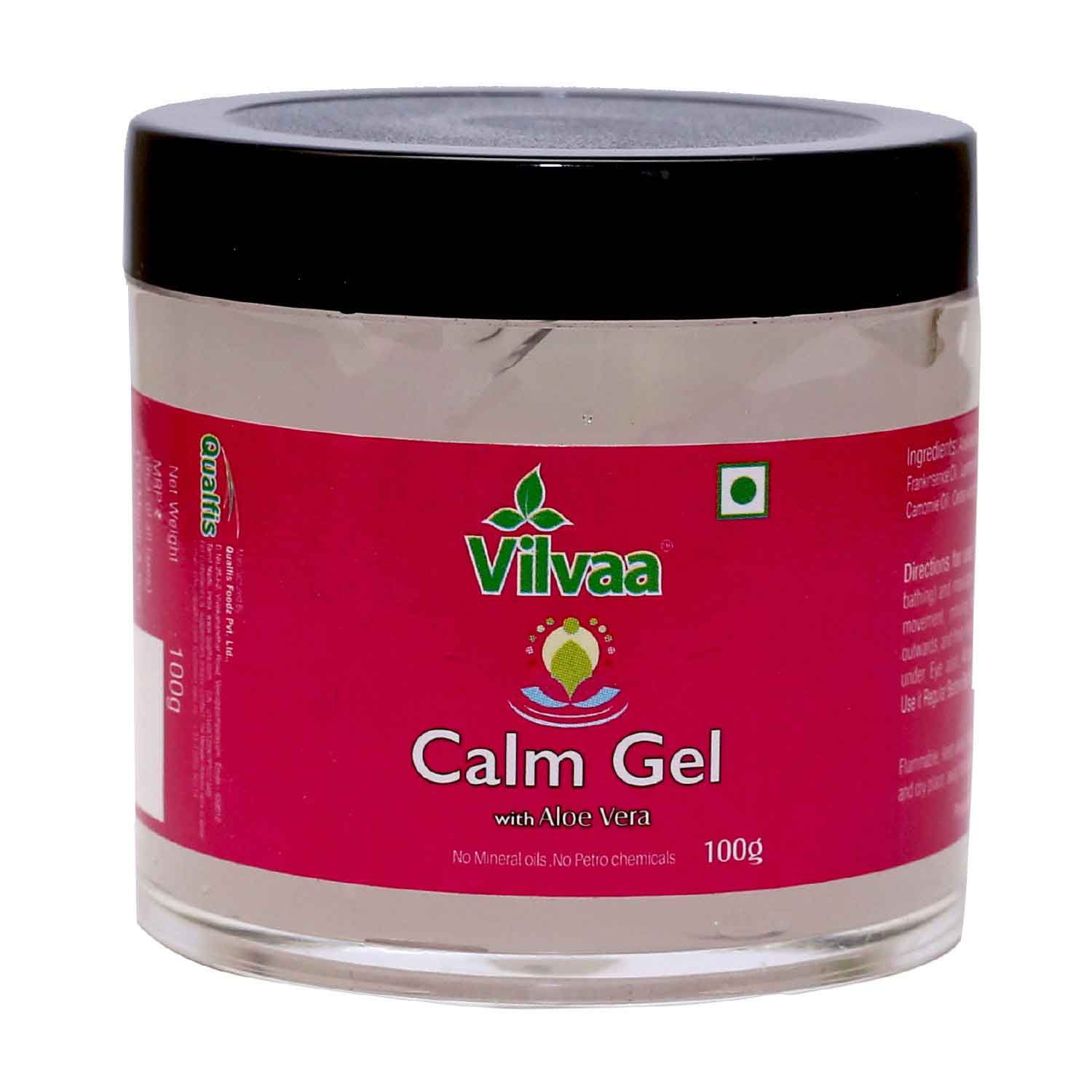Calm Gel With Aloe Vera - 100g