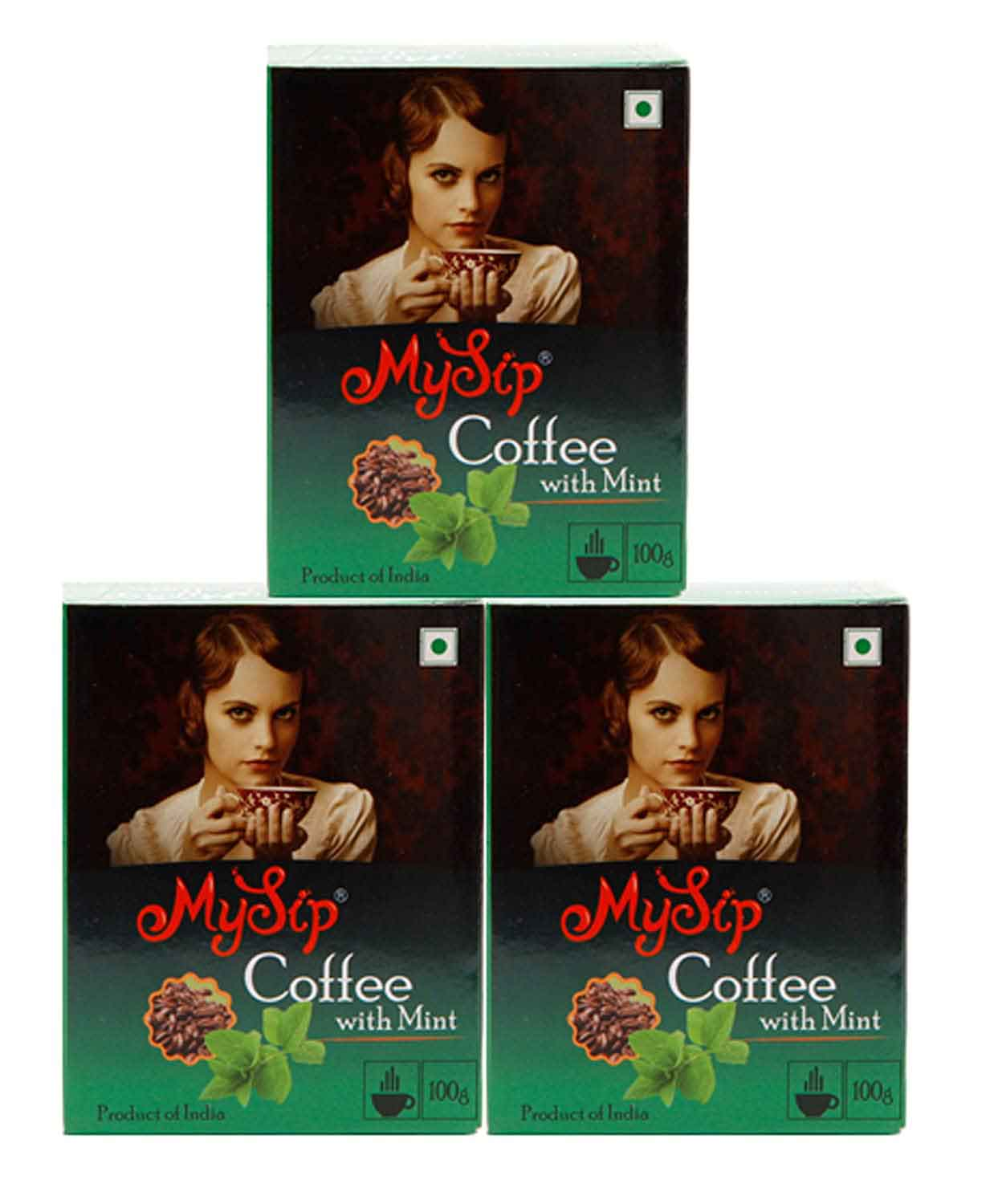 My sip coffee with mint 100gm – ( pack of 3)