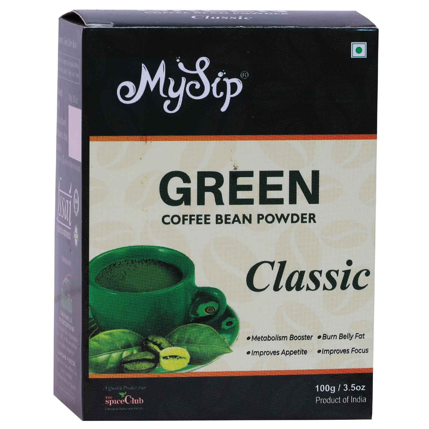 Green Coffee Bean Powder Classic – 100g