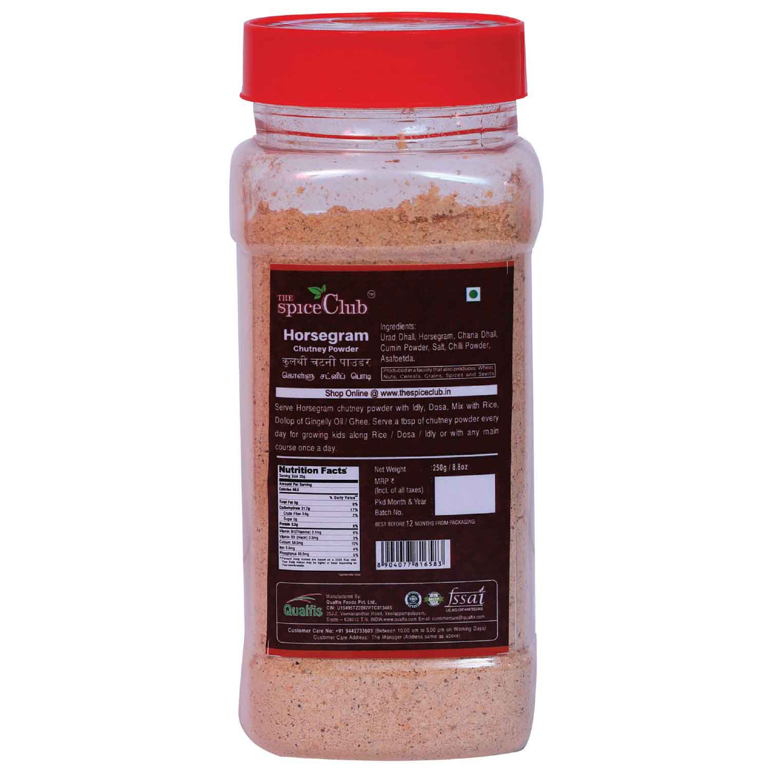 Horsegram Chutney Powder