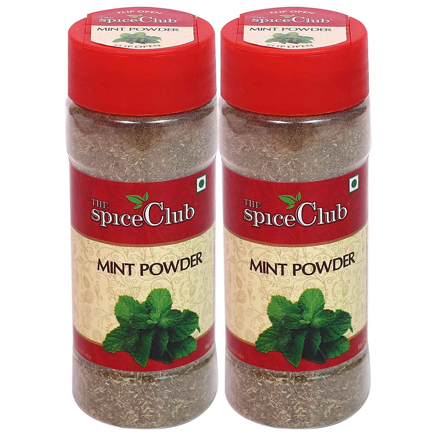 Mint (Pudina) Powder 50g (Pack of 2) - 100% Pure & Natural Spice Powder