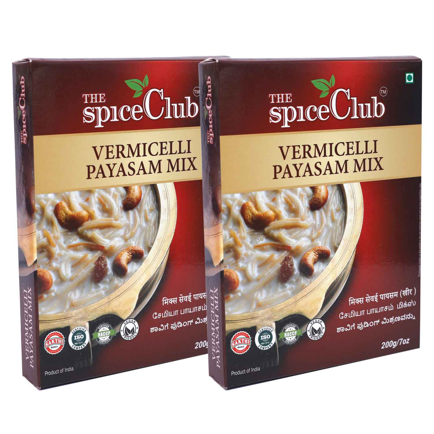 Vermicelli Payasam Mix 200gm - (Pack of 2)