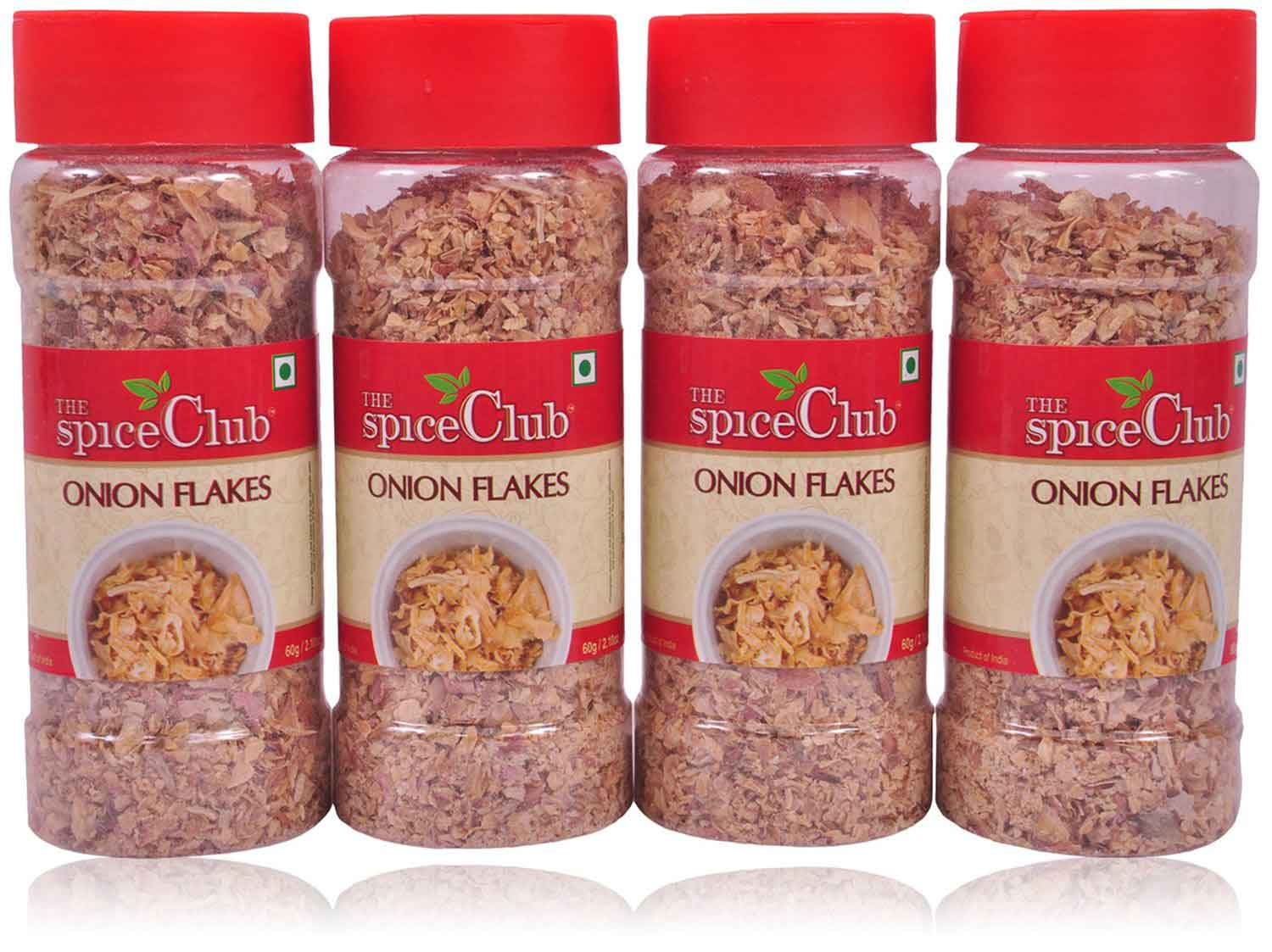 Red Onion Flakes 40gm Pet Jar - (Pack of 4)