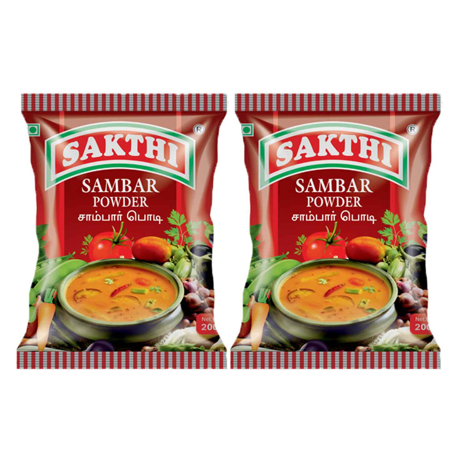 Sakthi Sambar Powder 200gm Pack of 2