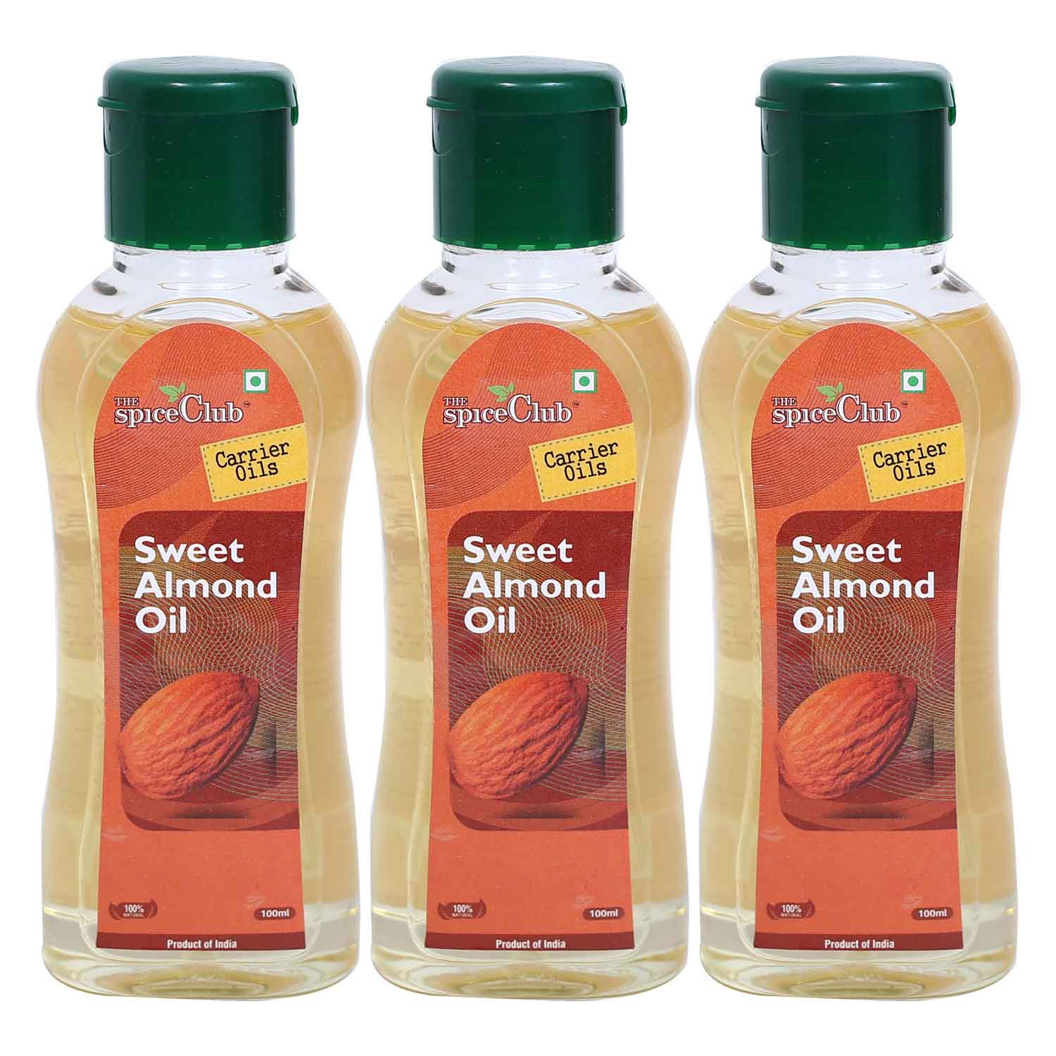 Sweet Almond Oil 100ml -  (PACK OF 3)
