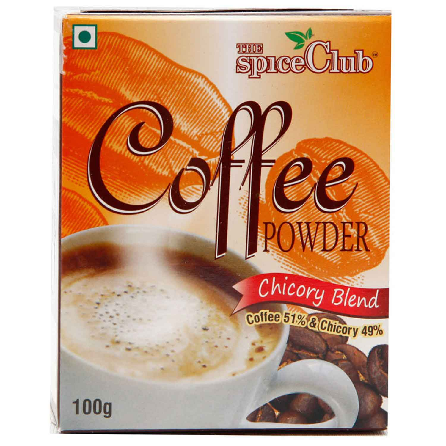 Chicory Blended Coffee Powder[CO51%-CH49%] – 100g