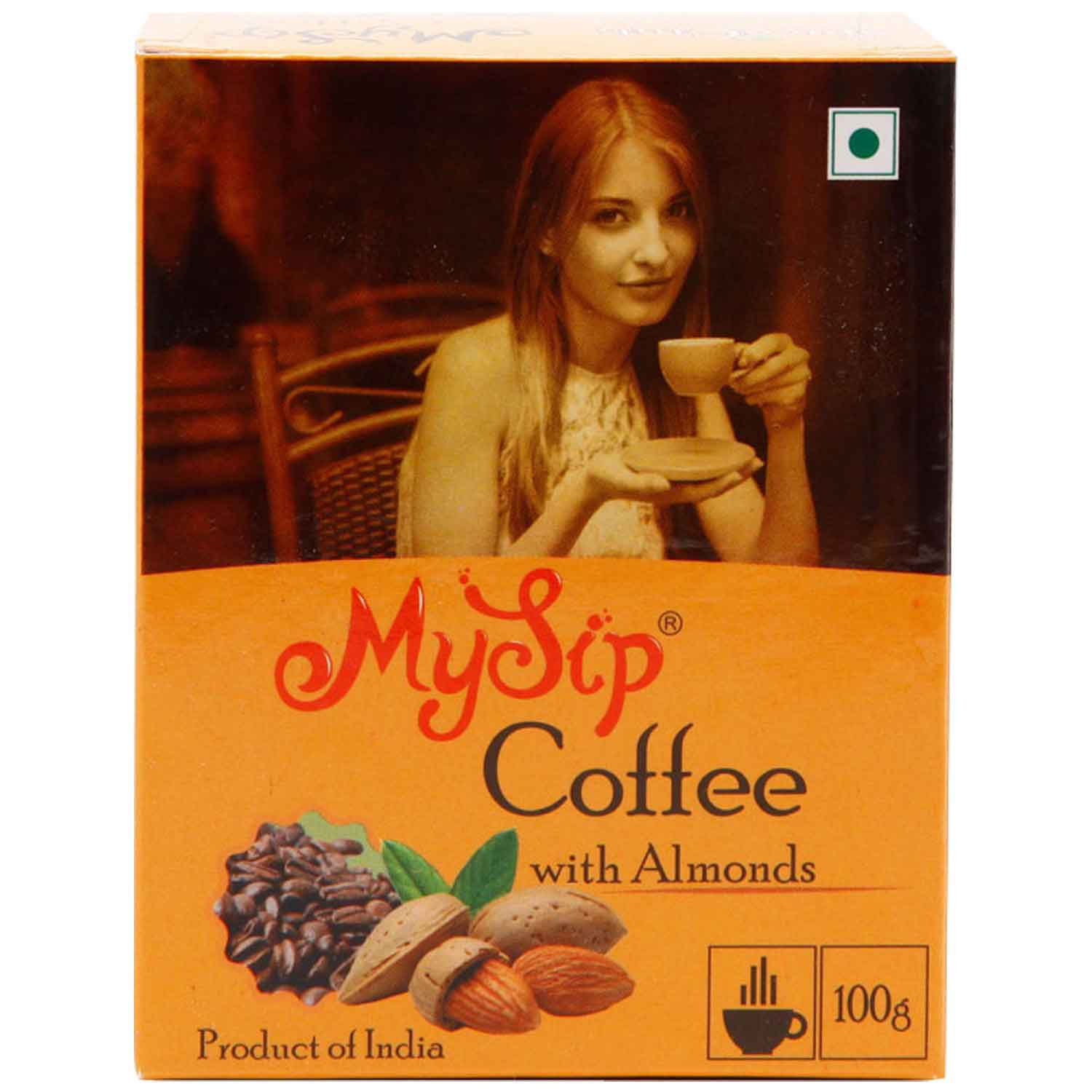 coffee with Almond 100gm