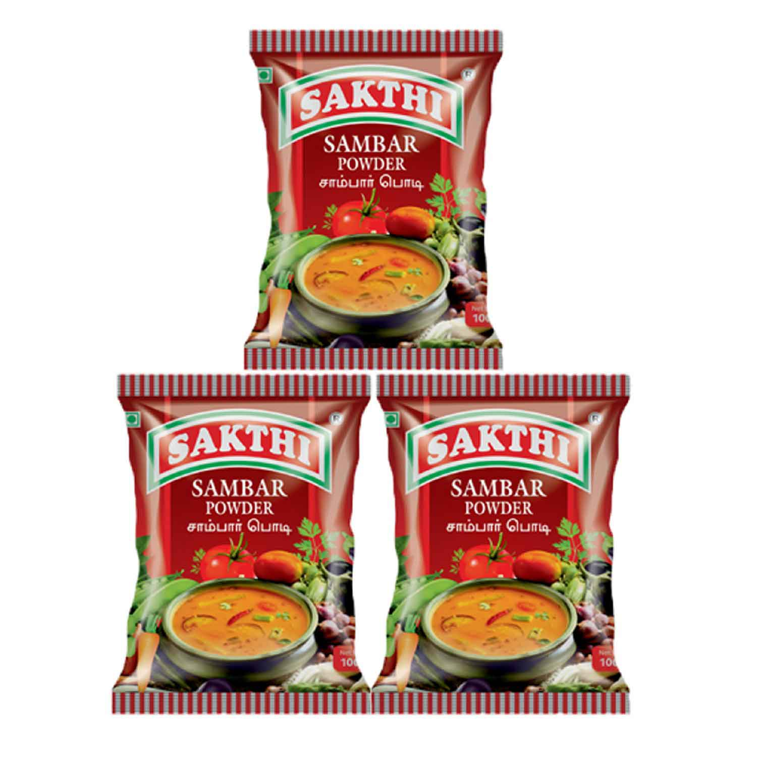 Sakthi Sambar Powder 100gm Pack of 3