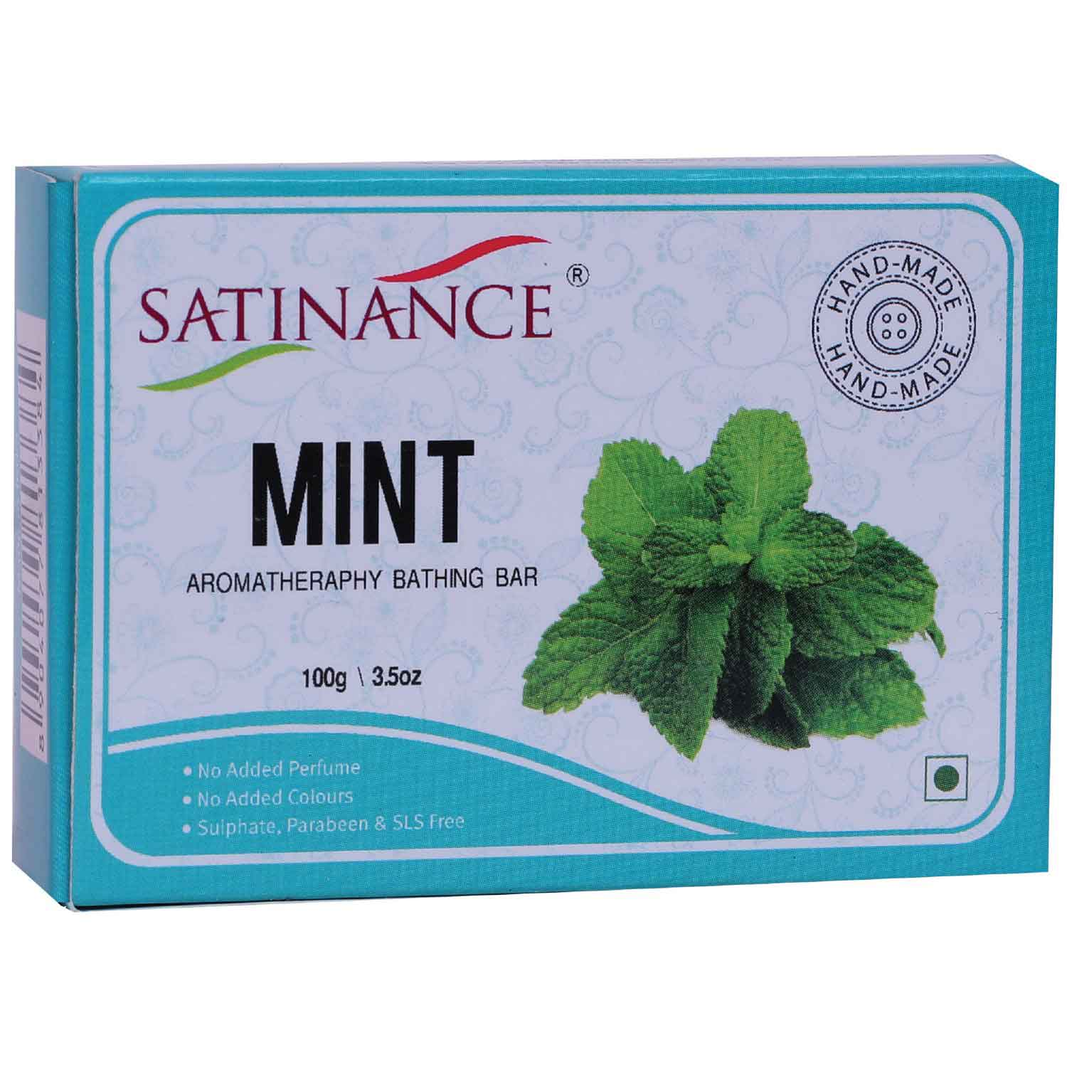 Mint Aromatherapy Bathing Bar (Transparent Soap)