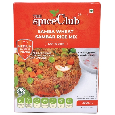 SAMBA WHEAT SAMBAR RICE
